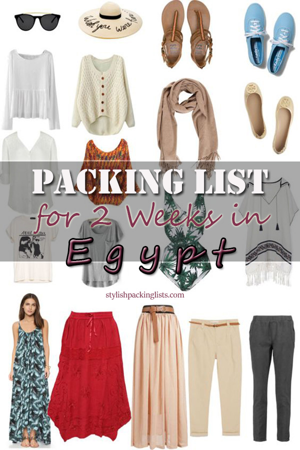 Egypt packing list, what to pack for egypt, dress code for tourist in egypt