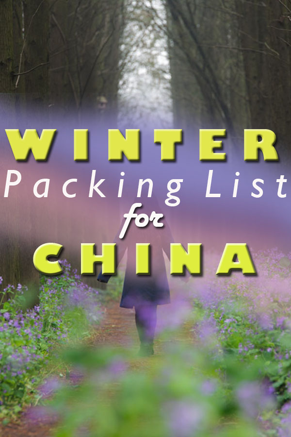 Packing list for China in winter, china winter packing list, what to wear in china winter, what to wear in china in winter, winter in china packing list